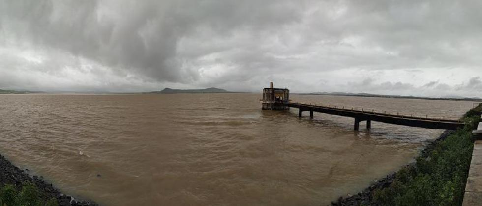 Waiting for rain in the catchment area of dams in Nashik district