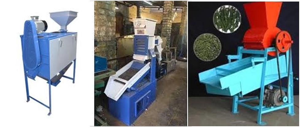 machines used for value addtion in millete