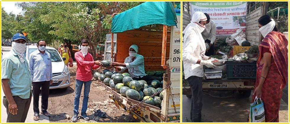 farmers sold Fresh and quality fruits  to the consumers at reasonable prices.