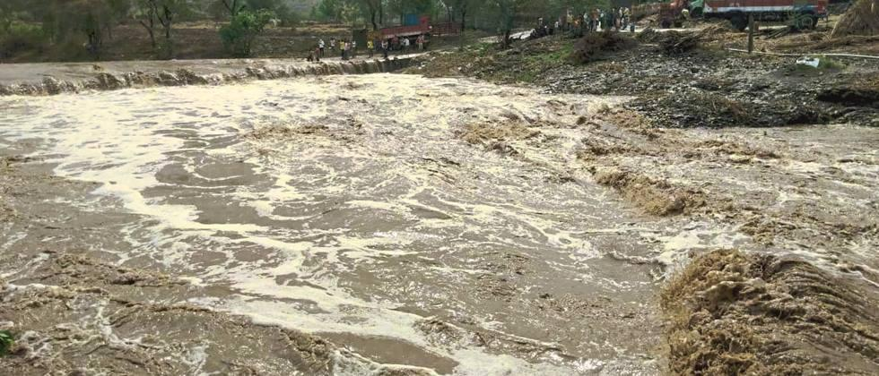 Stormy rains in Beed Hit the next day too
