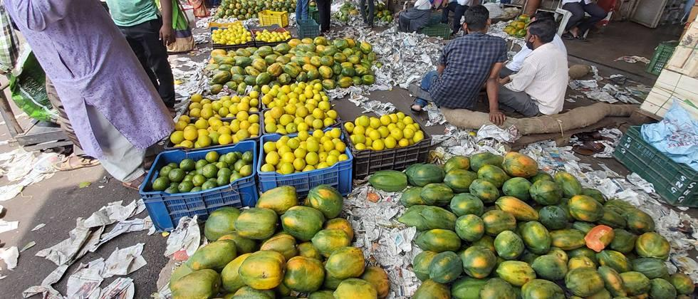 Decline in vegetable imports in Pune