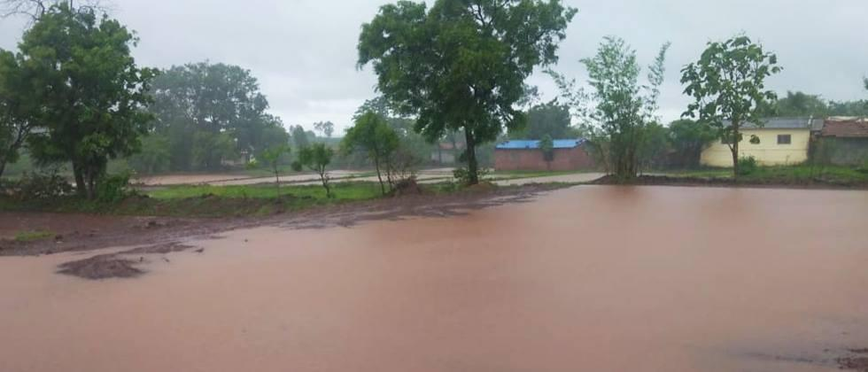 Heavy rains in two circles in Jalna district