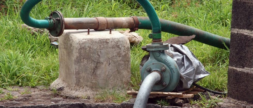 Electricity connection of agricultural pumps is pending
