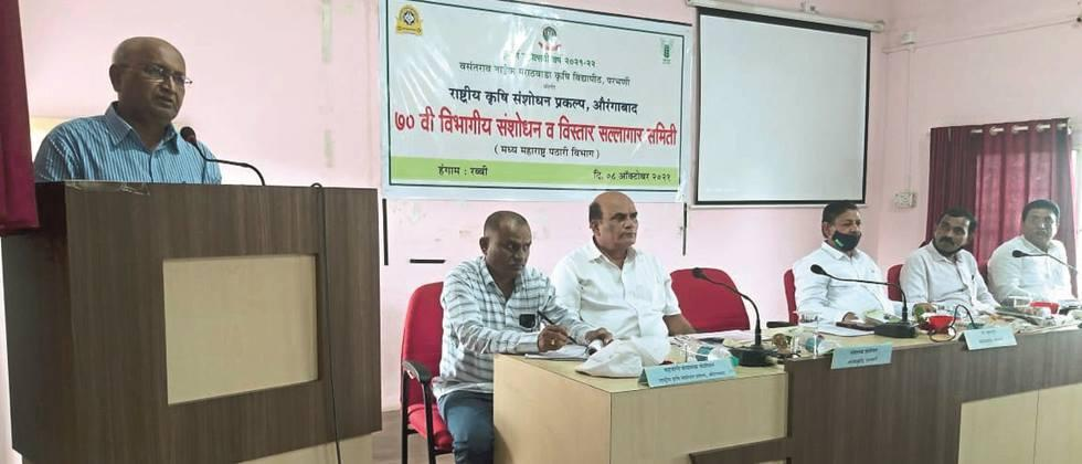 Farmers need to be self-sufficient in seeds: Dr. Dhawan