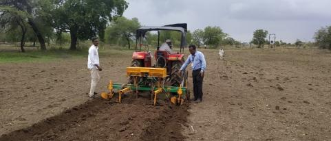 agriculture story in marathi, bbf technology is proving successful ...