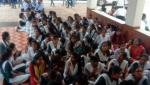 agitation of students for several demands