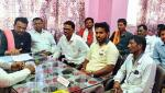 agitation for take a action against market committee workers