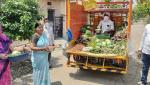 door  to door vegetable sales are becoming Beneficial in Parbhani