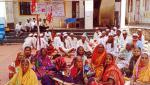agitation of villagers for several demands