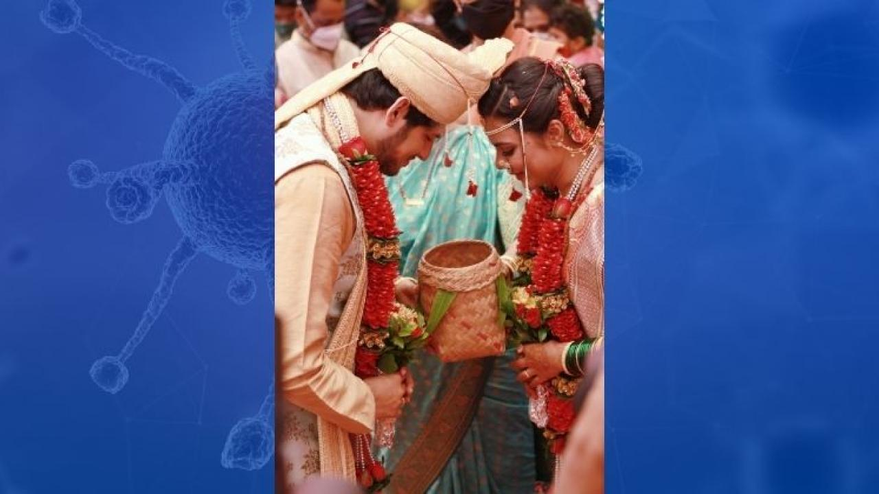 Panaji senior police officer CL Patil arranged the marriage of his daughter in a progressive manner
