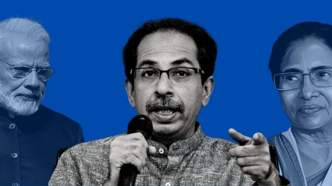 Uddhav Thackeray congratulated Mamata Banerjee on her victory in the elections