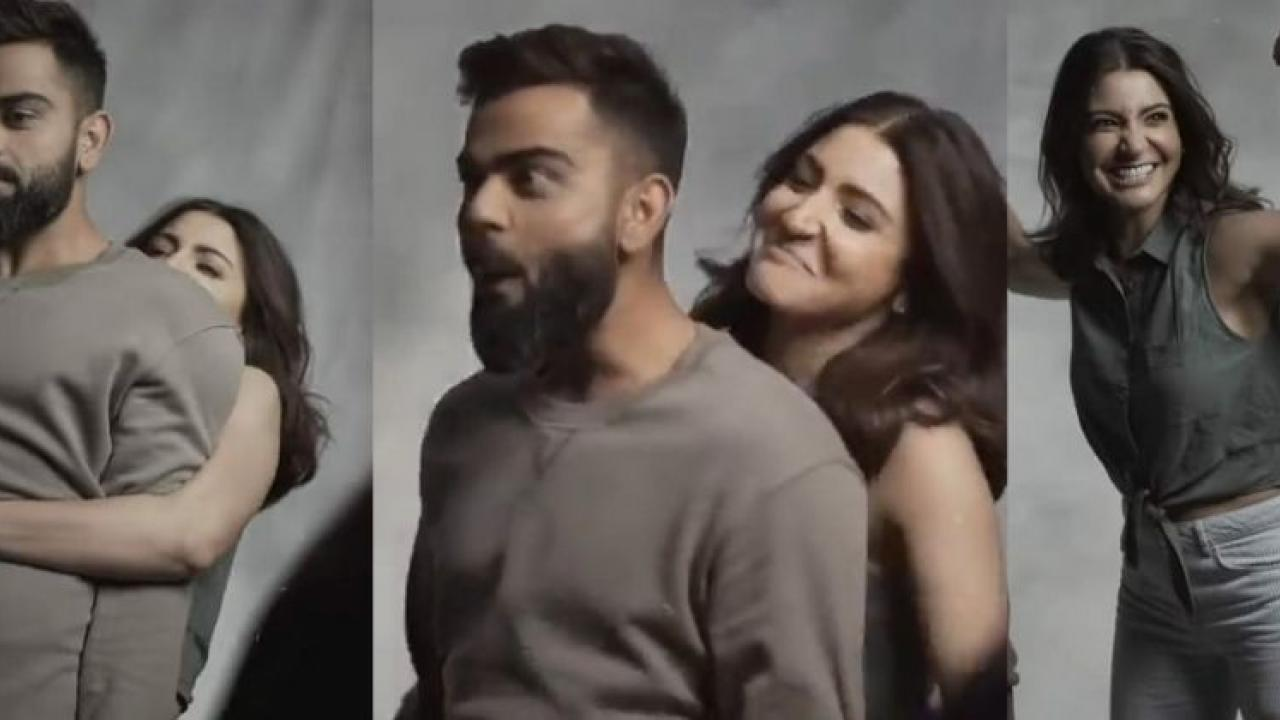 A video of Anushka Sharma and Virat Kohli is going very viral