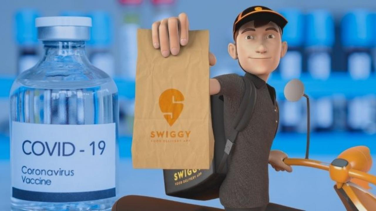 Swiggy has announced free Covid vaccination for its delivery partners
