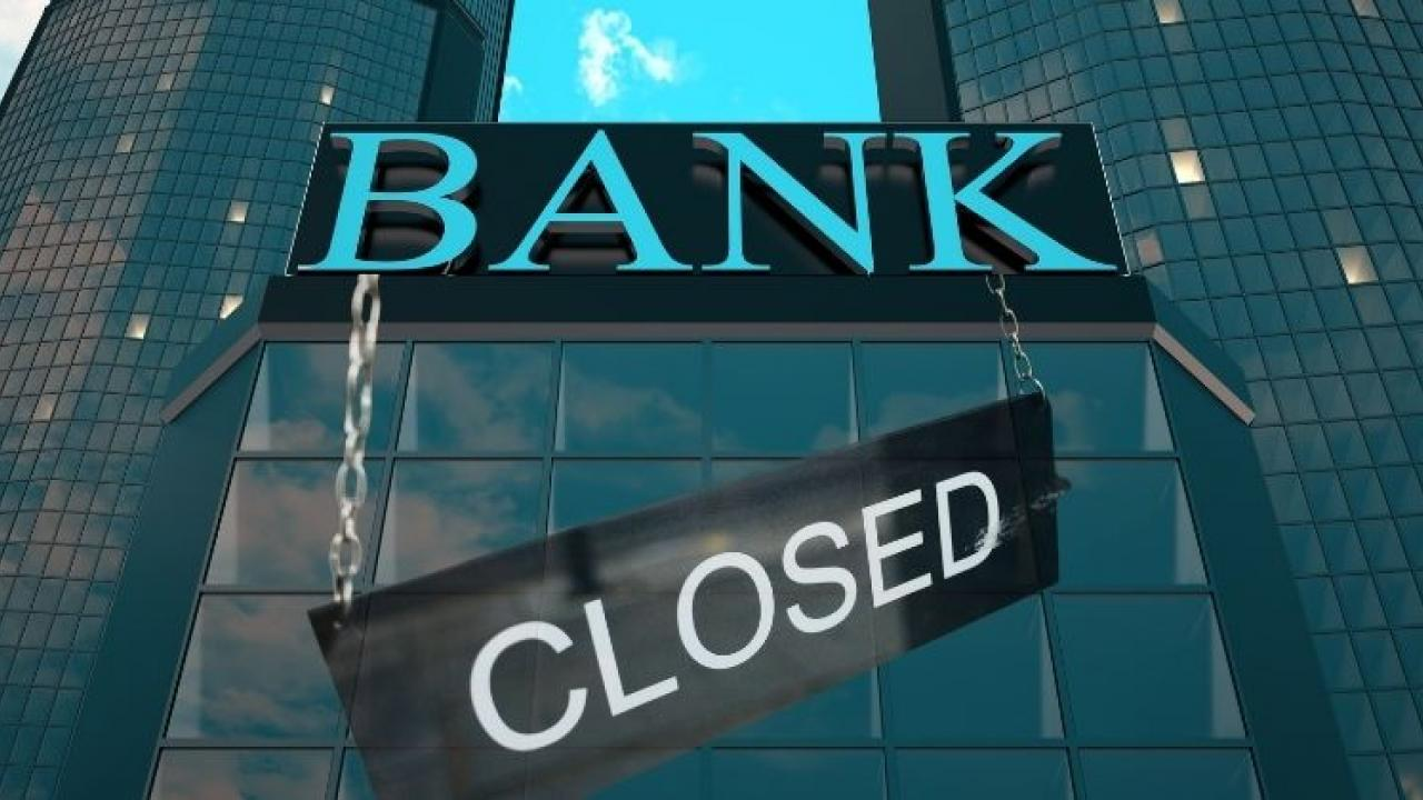 All public and private sector banks will be closed for seven days