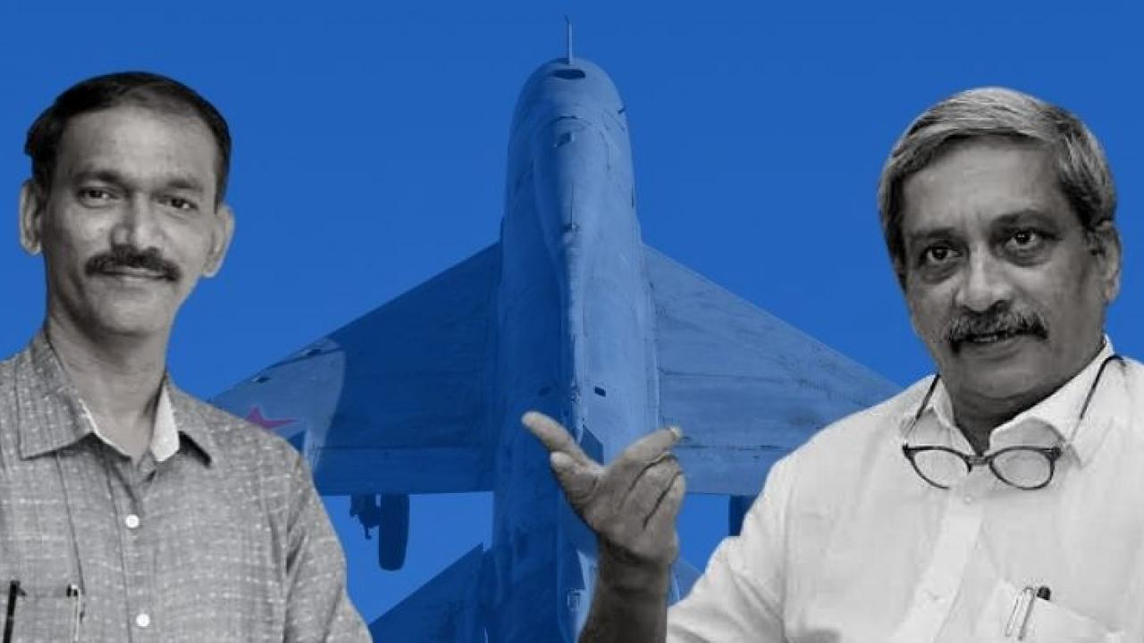 Goa Congress drags Manohar Parrikar name into Rafale Middleman allegations made by French News Portal