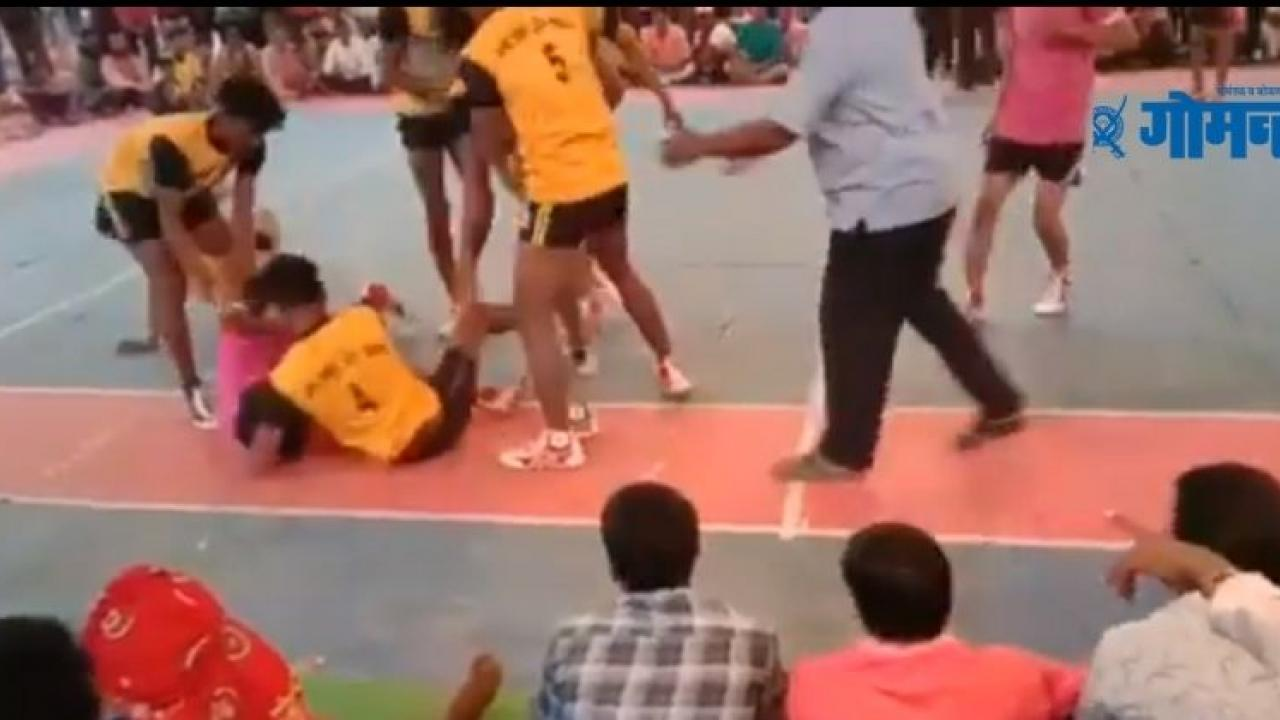 A 20 year old man died on the kabaddi ground