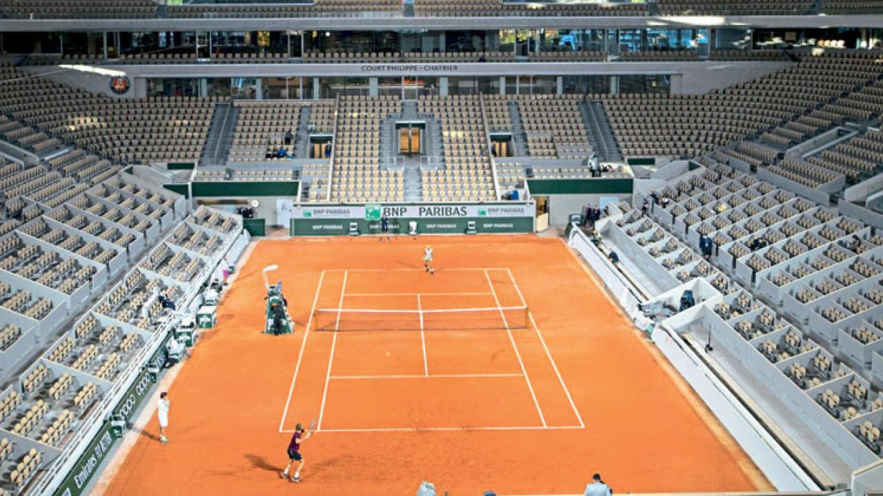 Covid-19 again slashes French Open crowd sizes; now only 1,000