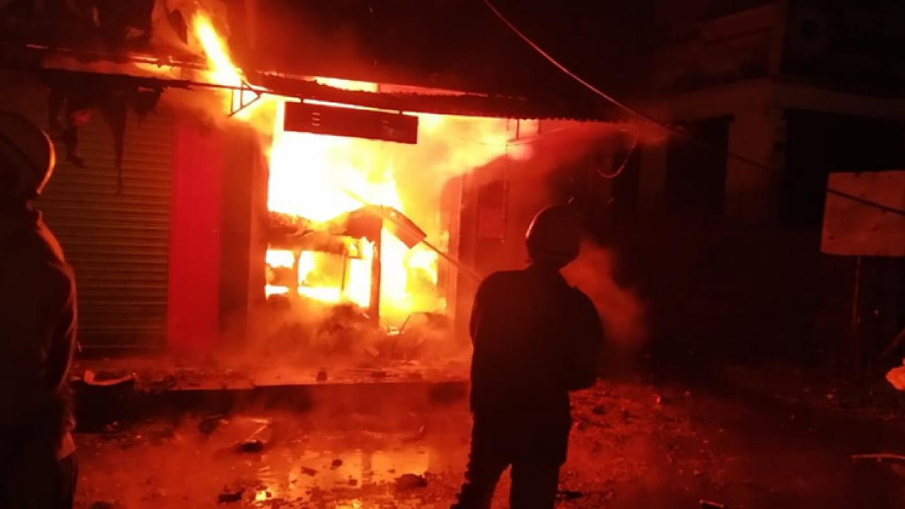 Goa: Medical shop gutted in fire at Sakhli