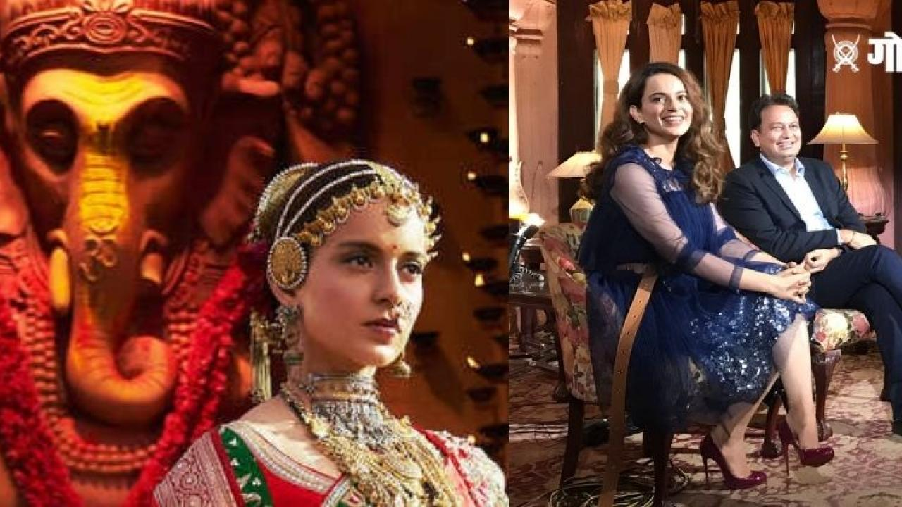 Actress Kangana Ranaut announced titled Manikarnika Returns The Legend Of Didda