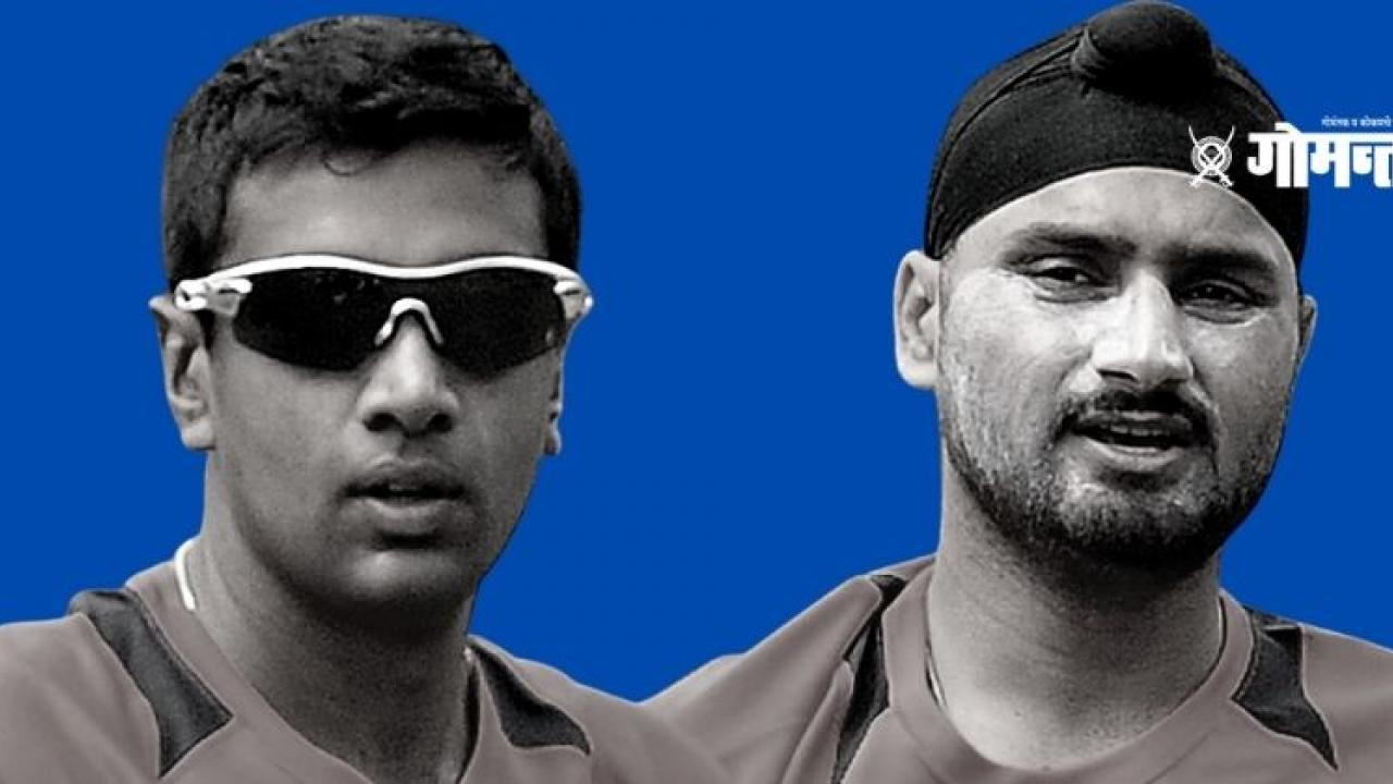 Who is the top spinner Ashwin and Harbhajan Singh Gautam Gambhir answered