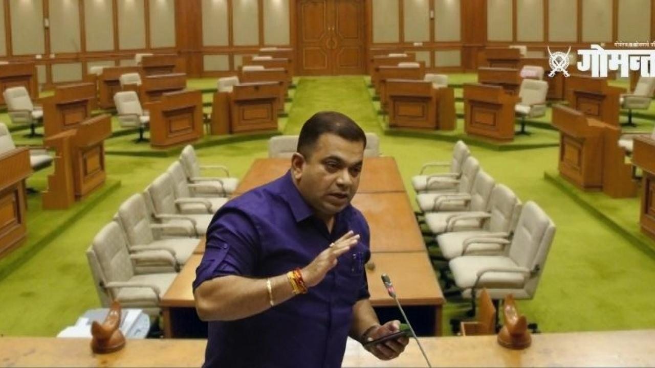 Goa Assembly Session parviporum is growing without planned development