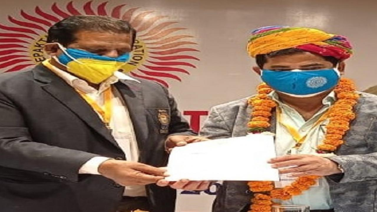 Deputy Chief Minister Chandrakant Kavalekar elected as Chairman of All India Sepak Takraw Federation