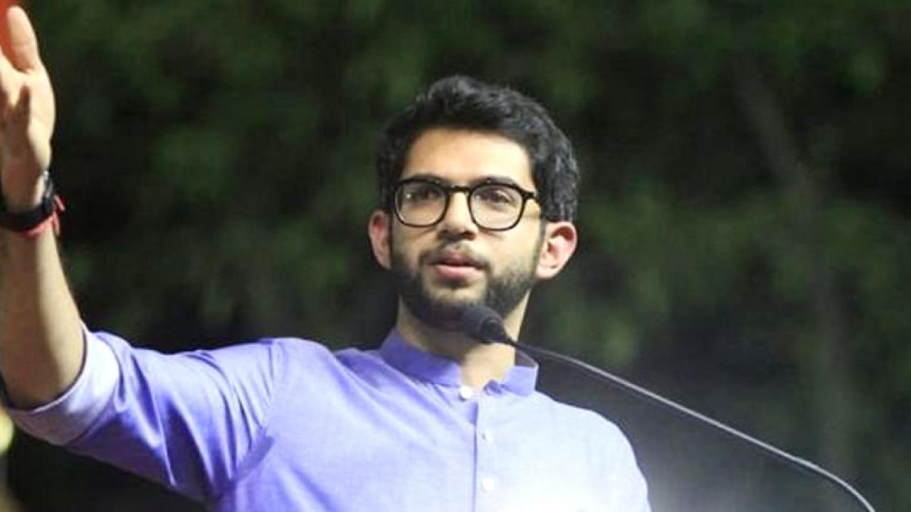 Shiv Sena leader and environment minister Aditya Thackeray over the long pending demand and proposal to rename Aurangabad as Sambhaji Nagar