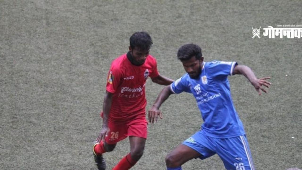 Dhempo Clubs victorious spark Richard and Gauravs goal beat Churchill Brothers