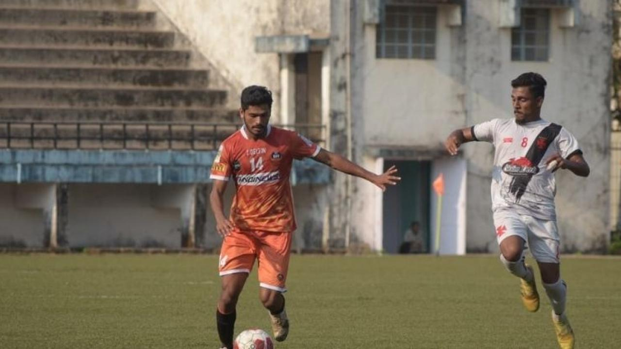 Goa Professional League Vasco wins due to injury time goal