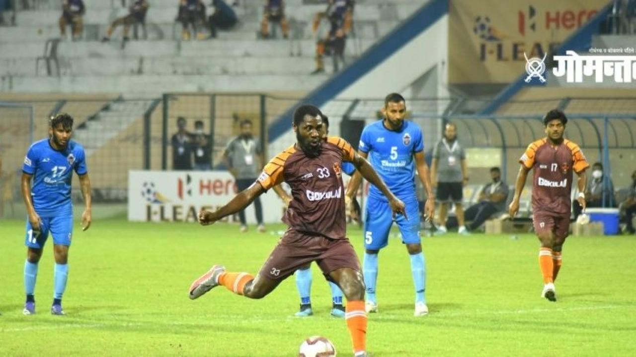 I League 2021 Gokulam Keralas shock to Churchill Brothers Goas first defeat