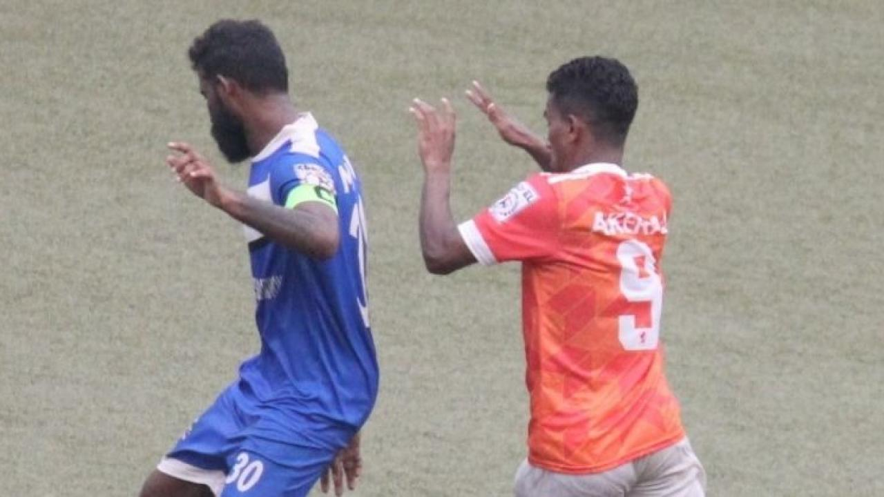 Goa Professional Leagu Calangutes equalizer kept Sporting Club at 2 2