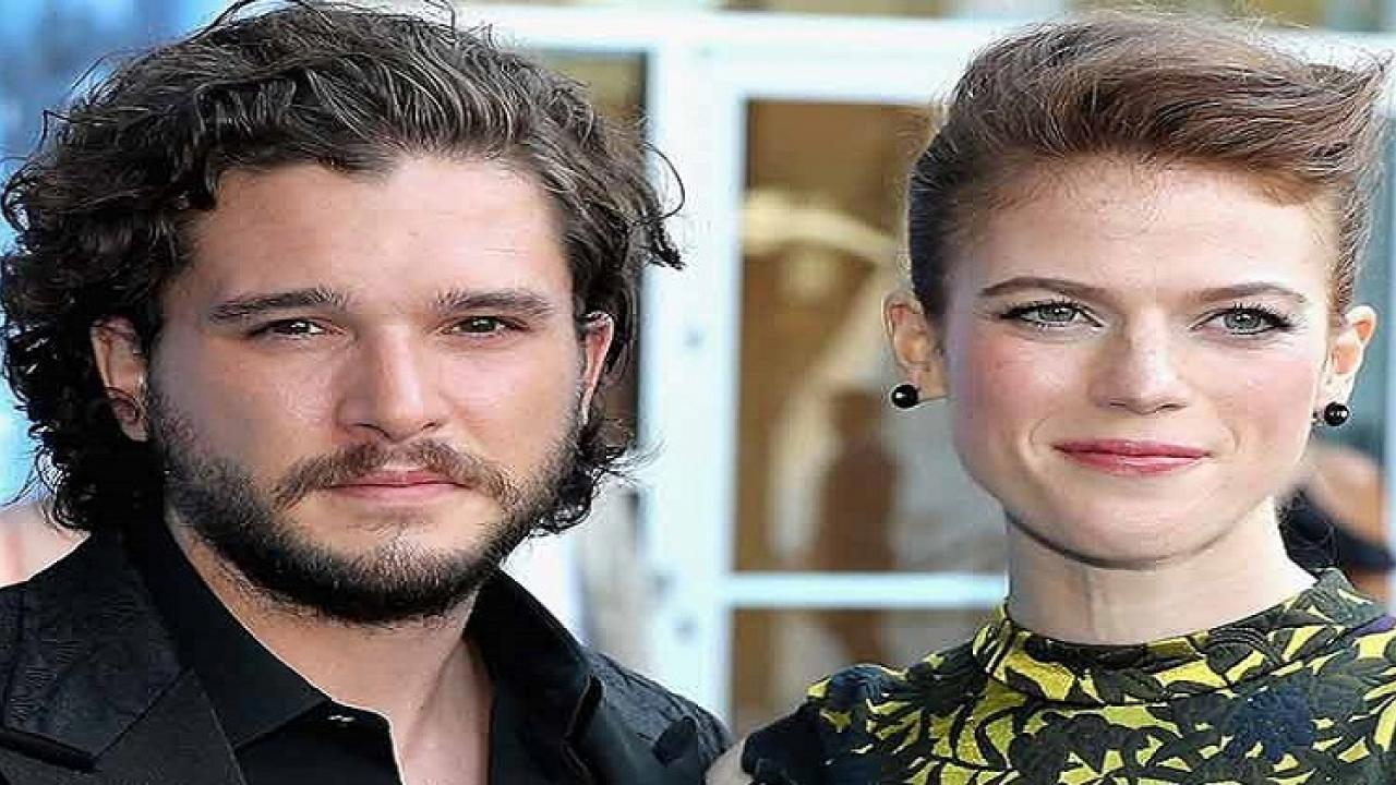 Rose Leslie met her husband Kit Harington on the set of the HBO series Game of Thrones who played John Snow