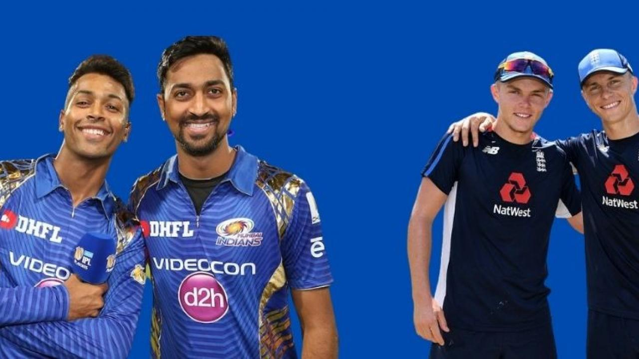 Ind vs Ing Pandya Brothers on one side and Karan Brothers on the other