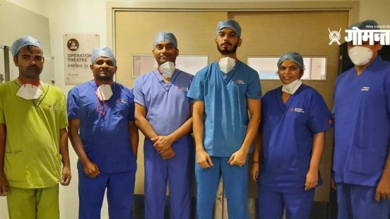 Risky spinal scoliosis surgery on 13yearold girl from Goa successful