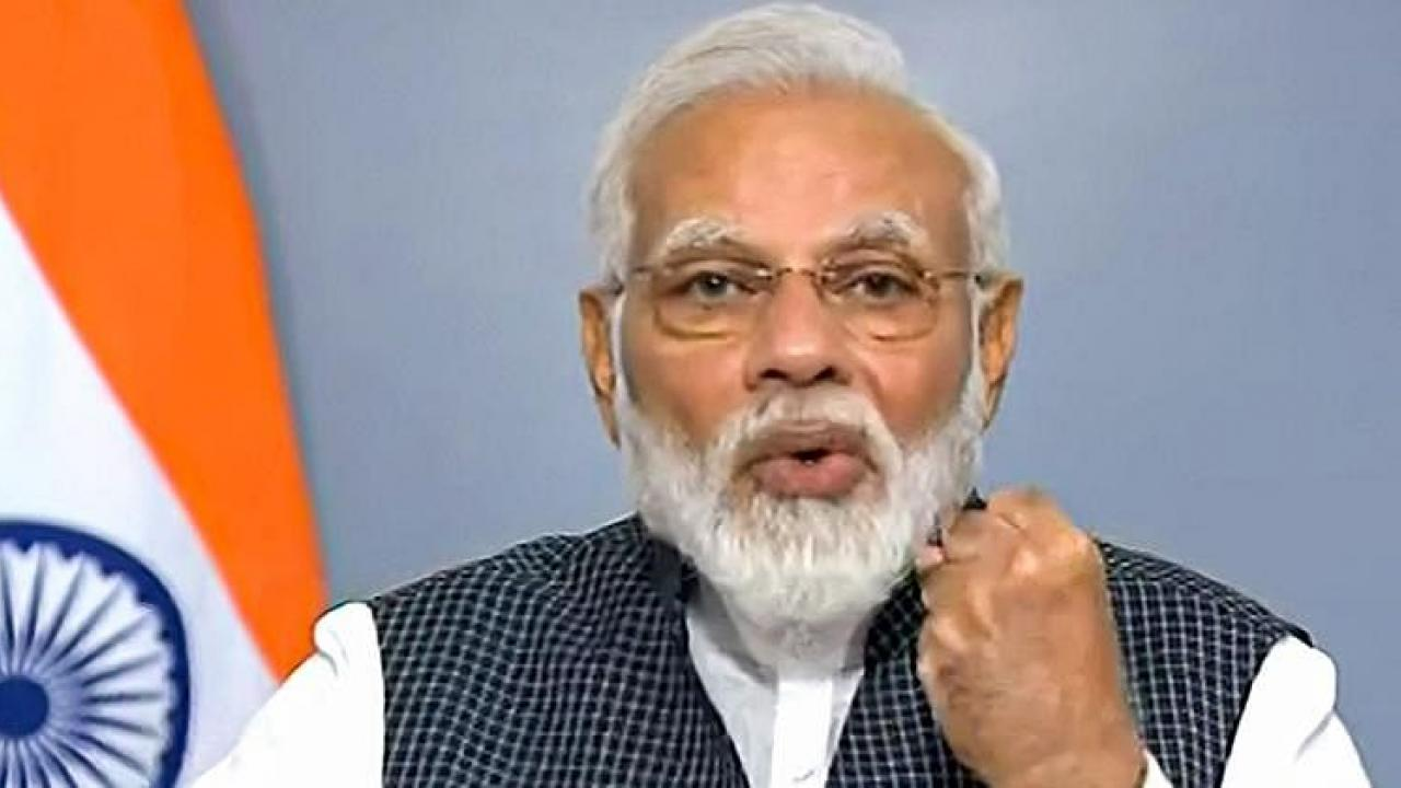 Prime Minister Modi intends to achieve the objectives of the Paris Agreement by reducing India's carbon footprint