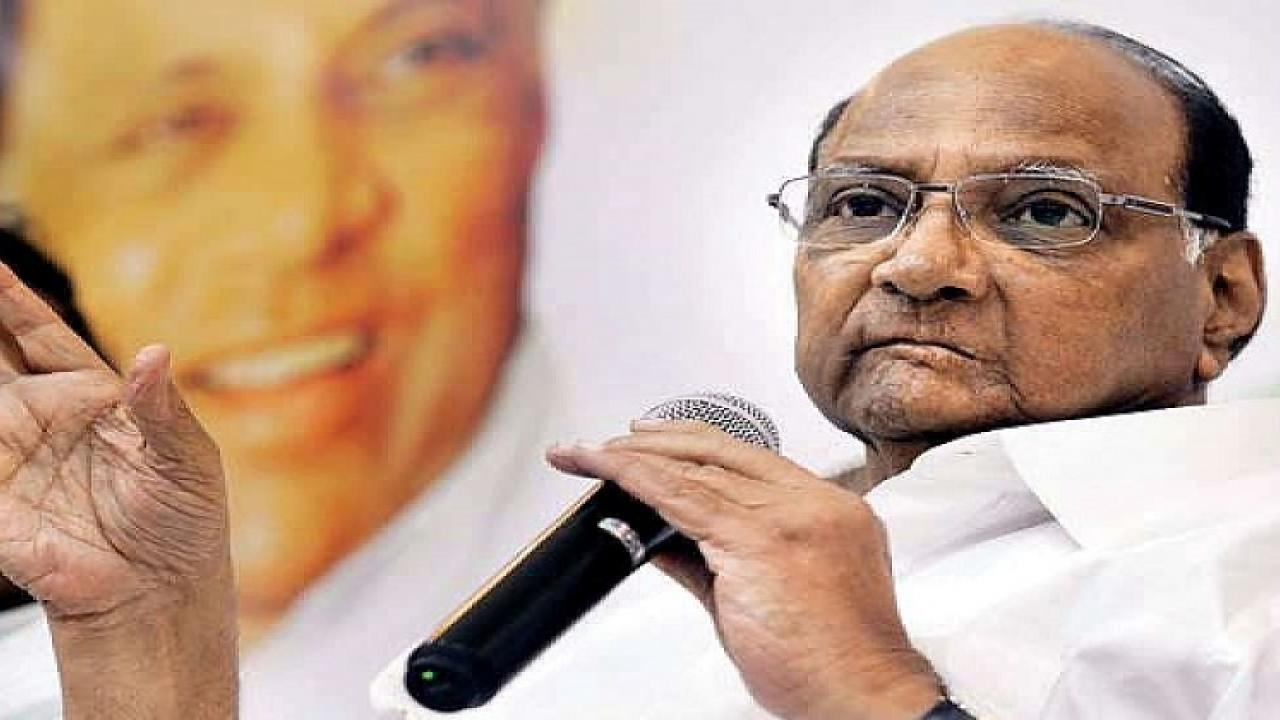 politics in the country is slowly changing Sharad pawar