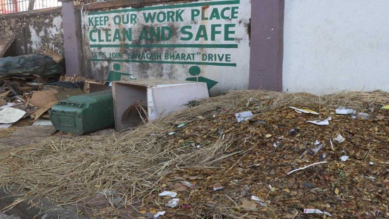 Panaji Municipal Corporation neglects cleanliness