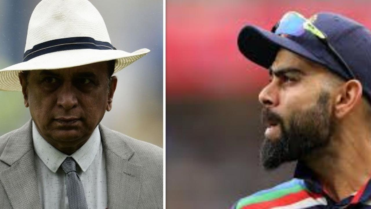 sunil gavaskar on virat kolhi