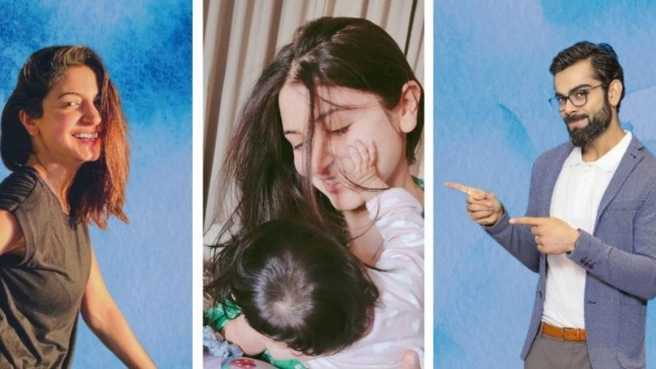 Virat Kohli wished Anushka and daughter Vamika a special Womens Day