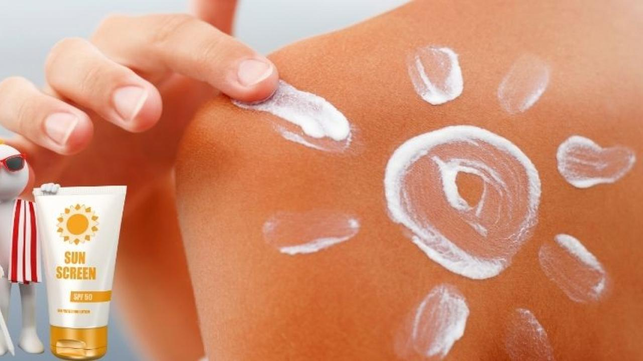 Summer Skin Protection Use sunscreen to prevent skin cancer