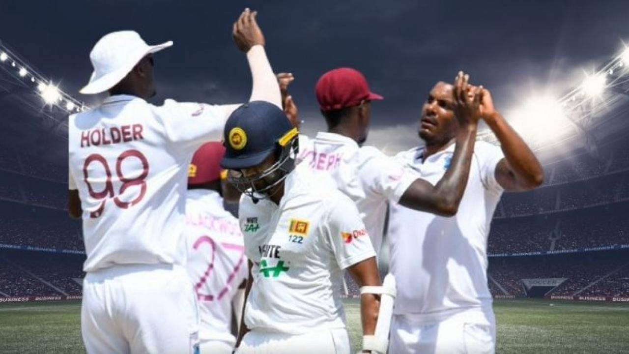 Video Viral WIvsSL West Indies Jason Holder mocked the Sri Lankan batsman