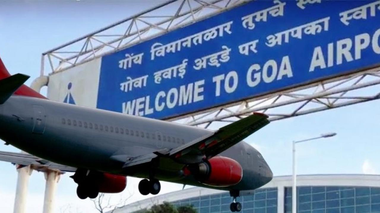 Dabolim Airport in Goa is crowded with an average of 17000 passengers