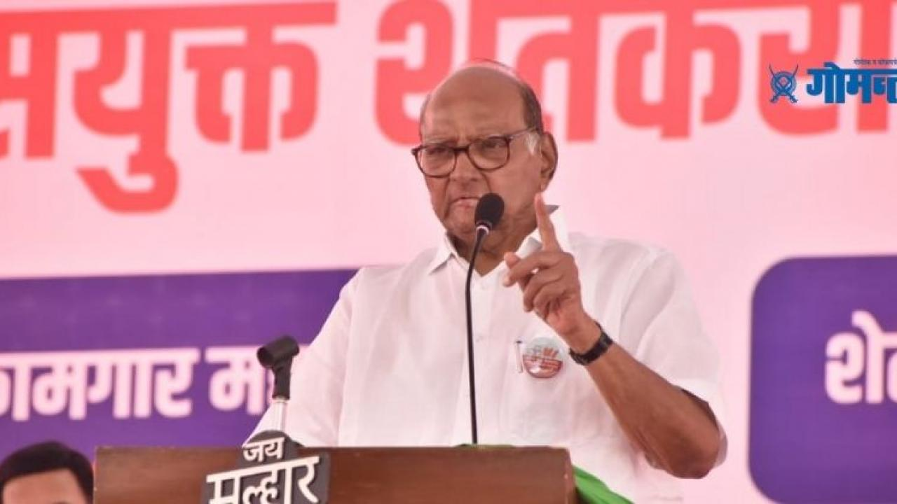 Sharad Pawar expressed displeasure over Governor Bhagat Singh Koshyari not attending farmer protest