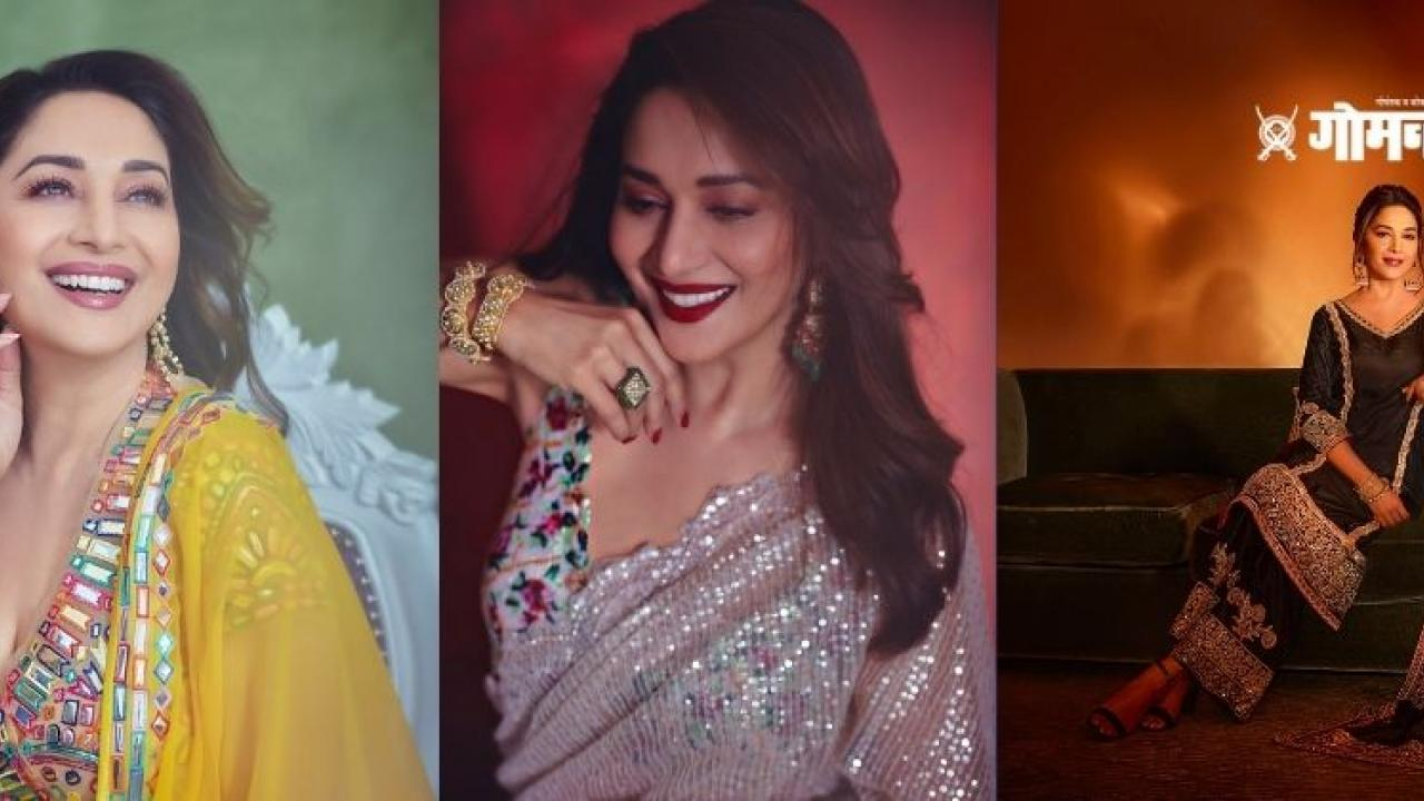 A Pakistani fan has also commented to Madhuri as Love from Pakistan