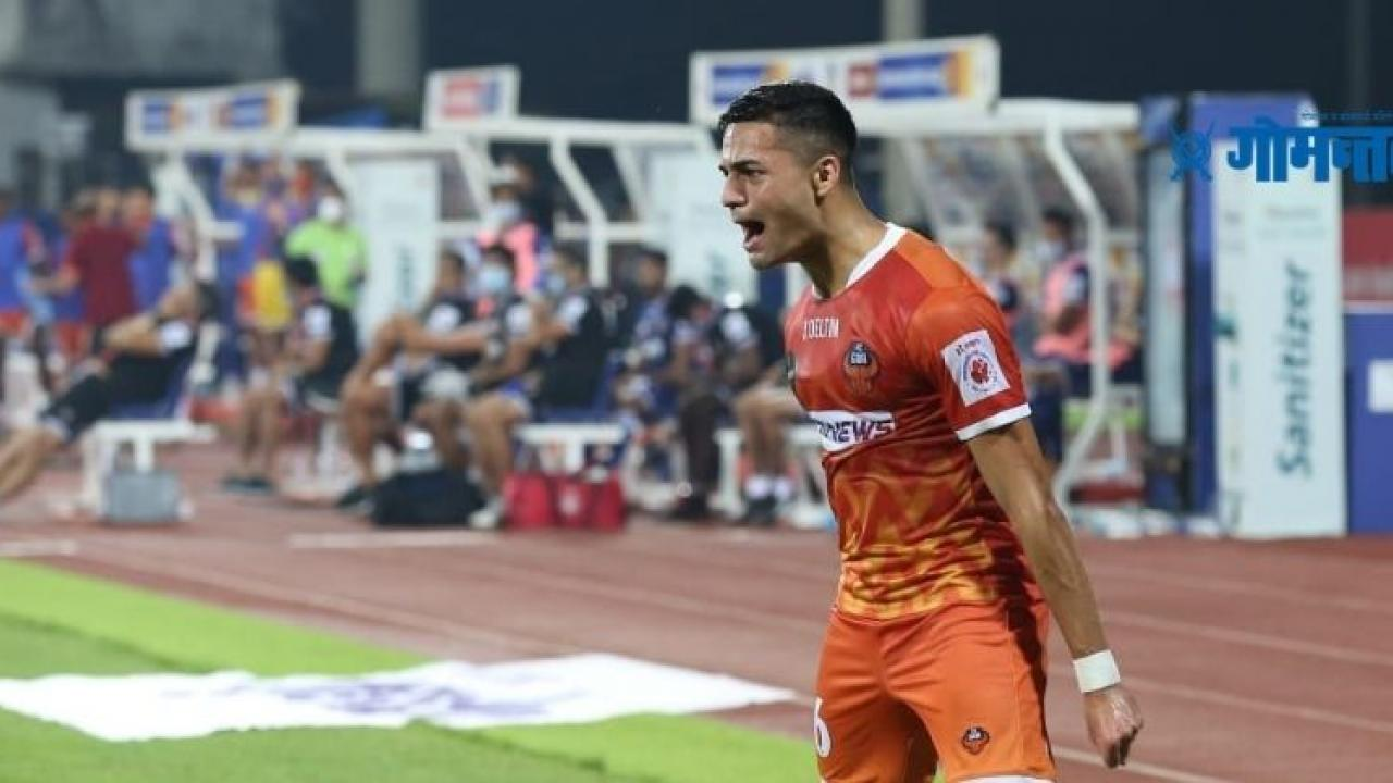 ISL 2021 Once again Ishaan Lucky Super Sub FC Goa stop Chennaiyin due to injury goal from behind