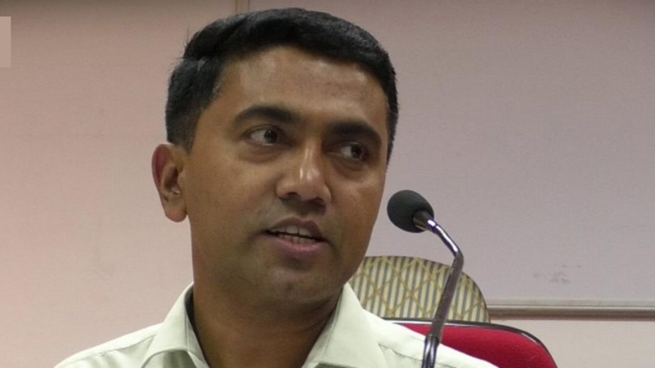 Goa: no need to give suggestions on salinity in the water of Mandovi river says CM Pramod Sawant