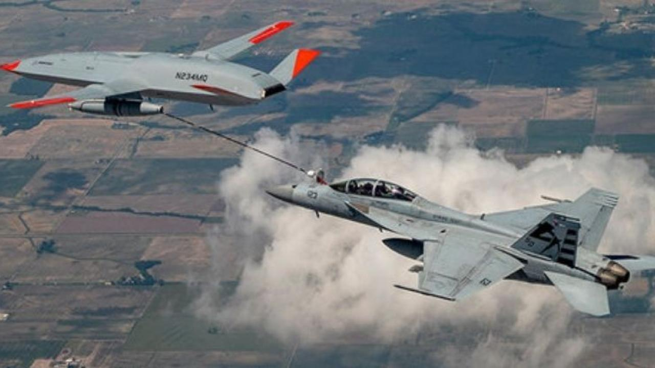 America Success in refueling aircraft with unmanned drones