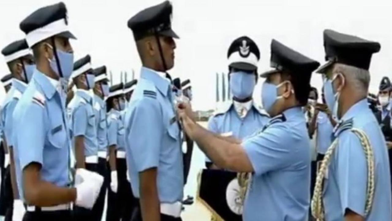 Sword of Honor accepted by the President of the Air Force