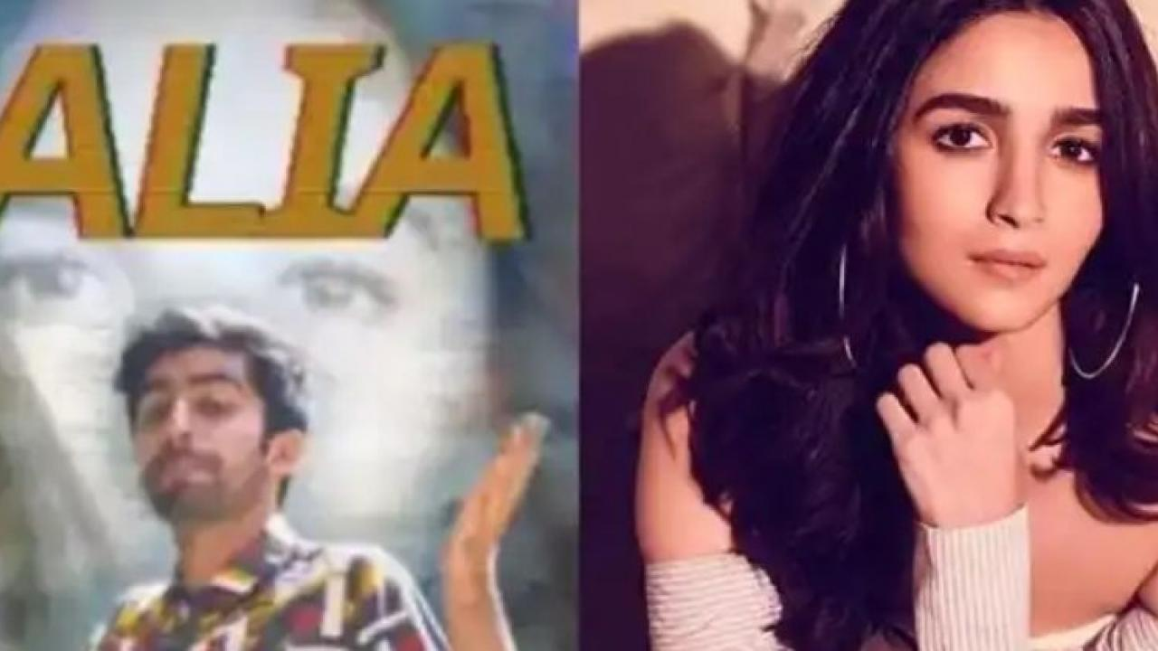 Pakistani rapper raps Alia Bhatt Watch the video