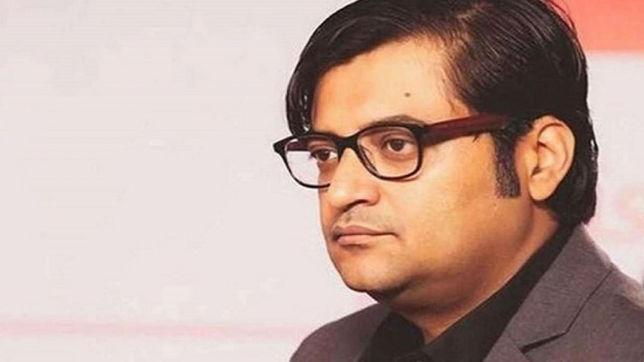 editor of Republic Channel Arnab Goswami  was arrested by the police